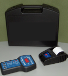 A modern brake meter decelerometer and printer