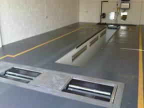 MoT Inspection Pit by GETECH Garage Equipment