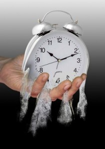 Don't let time slip away!